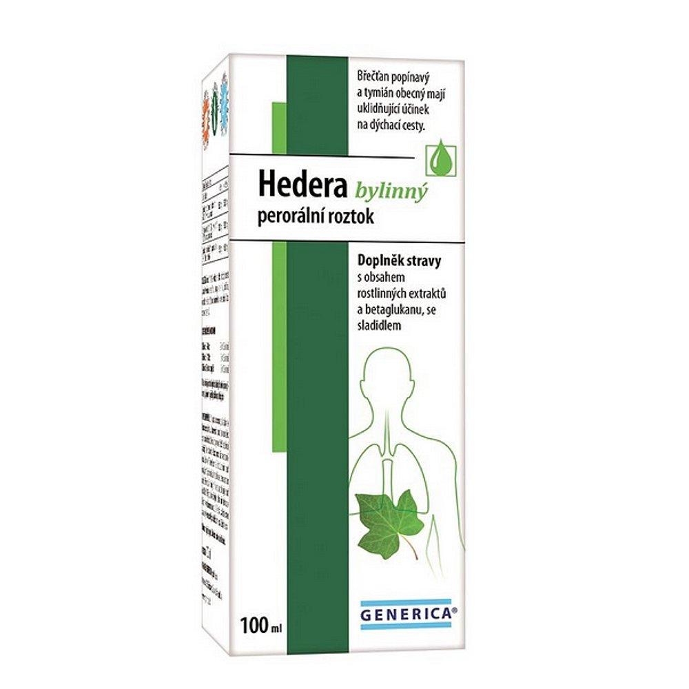 GENERICA Hedera bylinný perorální roztok 100 ml