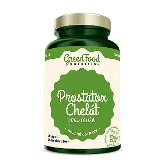 GreenFood Nutrition Prostatox Chelát pro muže 60cps