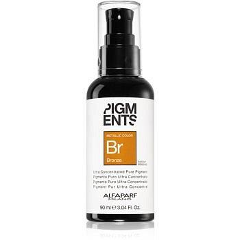 Alfaparf Milano Pigments pigmentové kapky na vlasy Bronze 90 ml