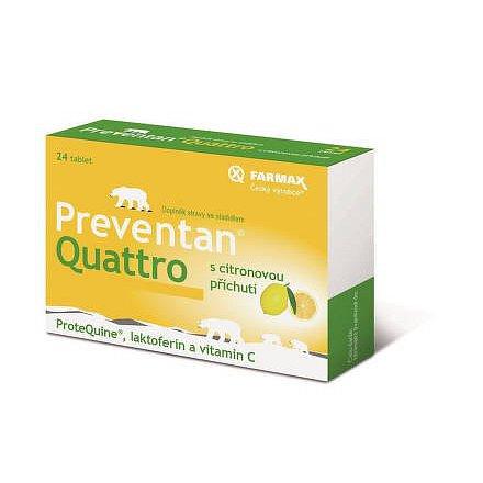 Preventan Quattro s citr.přích.24tbl.