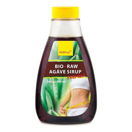Agáve sirup RAW BIO Premium 540 g/400 ml Wolfberry*