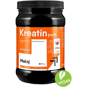 Kompava Kreatin Pure 500g/100 dávek