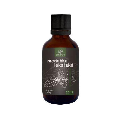 Allnature Meduňka lékařské bylinné kapky 50ml