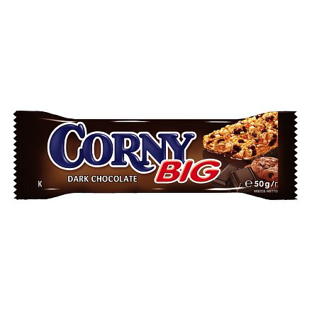 Corny BIG hořká čokoláda 50g