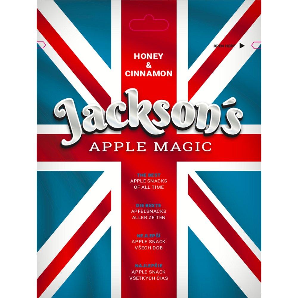 JACKSON´S - APPLE MAGIC - HONEY & CINNAMON sušená jablka s medem a skořicí 40g