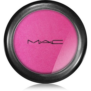 MAC Powder Blush tvářenka odstín Full Fuchsia (Frost) 6 g