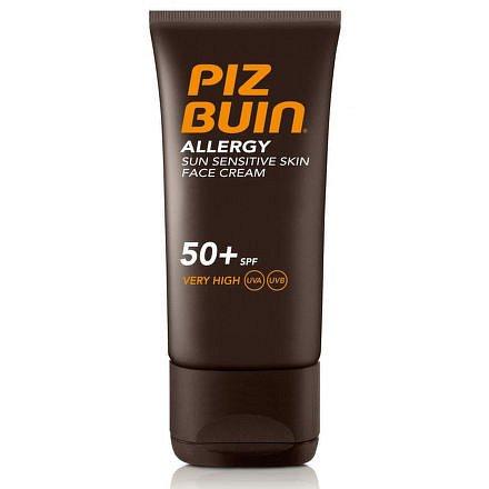 Piz Buin Krém na obličej pro citlivou pleť SPF50+ 50ml