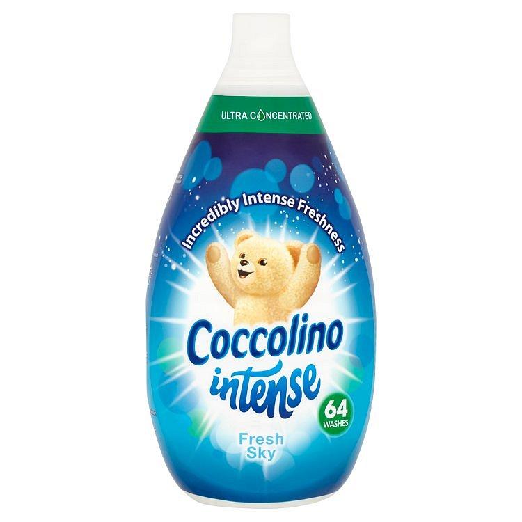 Coccolino Intense Fresh Sky aviváž, 64 praní 960 ml