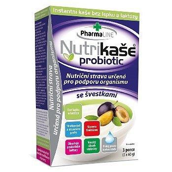 Nutrikaše probiotic - se švestkami 180g (3x60g)
