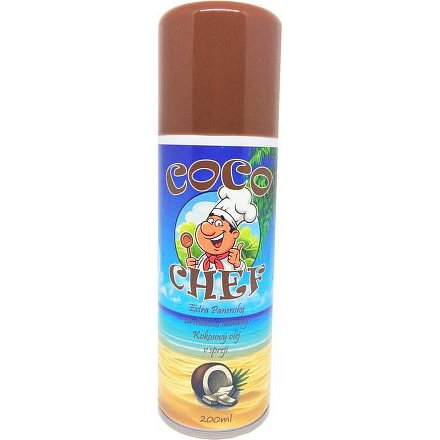 CocoChef Extra panenský kokosový olej ve spreji 200ml
