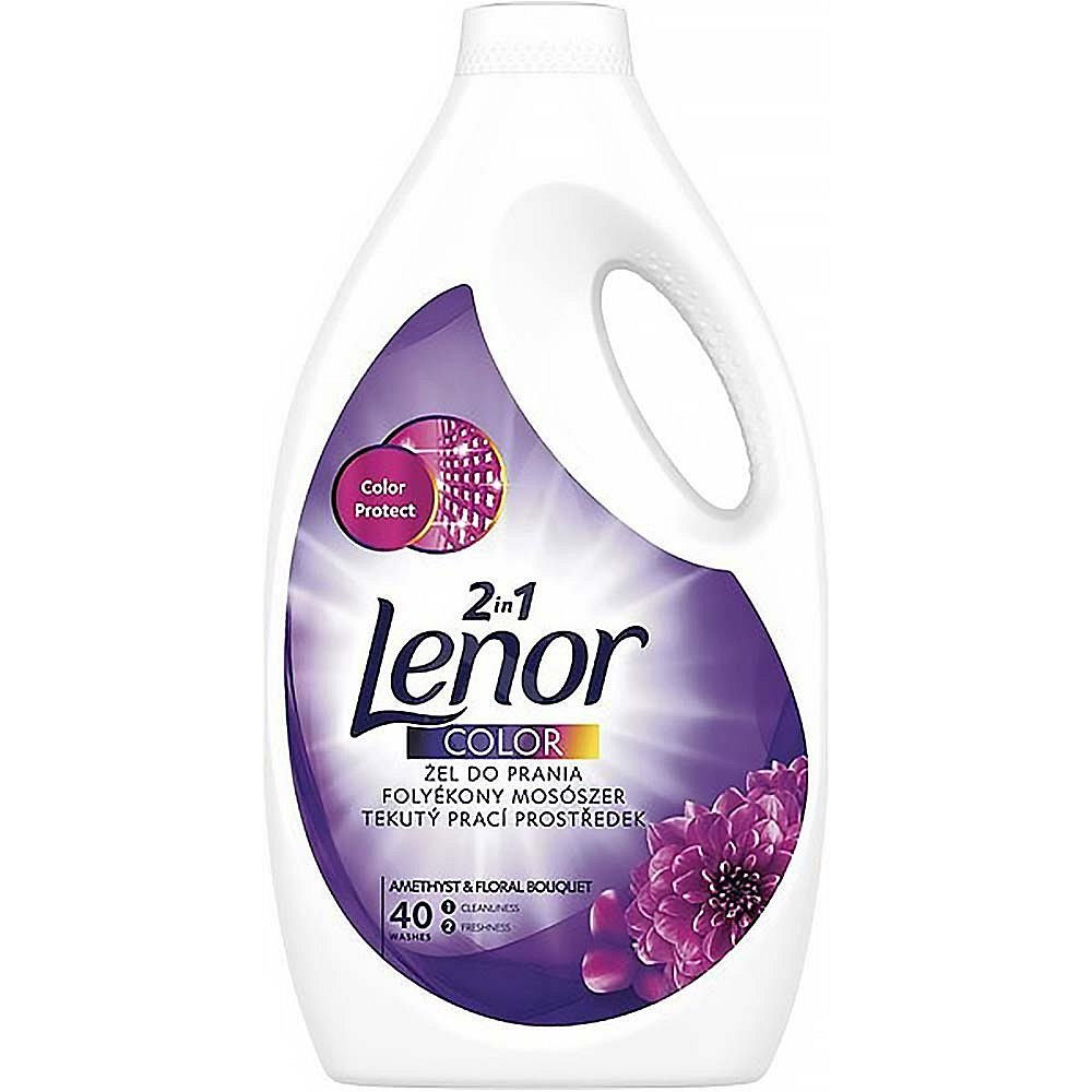 LENOR 2v1 Amethyst Color 2,2 l 40 praní