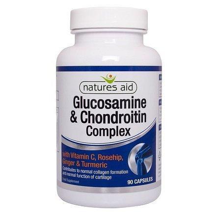 Glukosamin+Chondroitin Compl.+vit.C+kurkuma cps.90