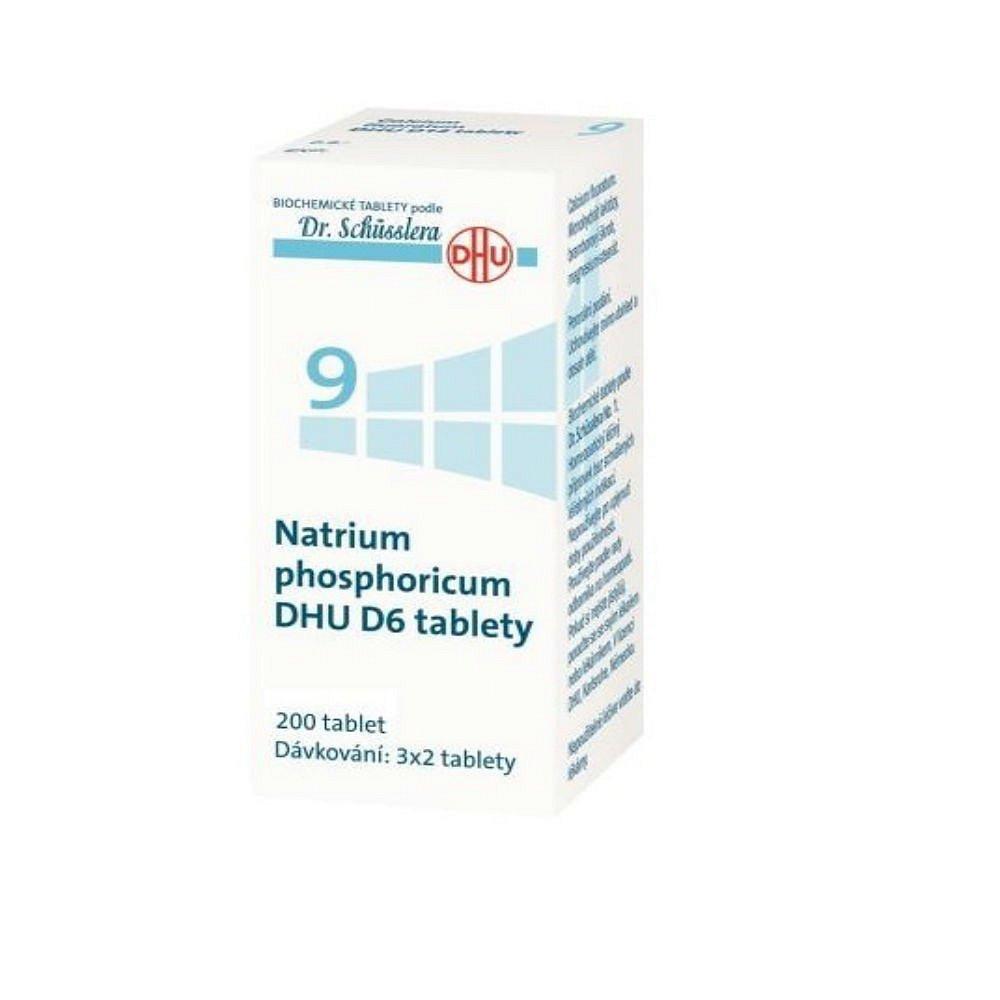 NATRIUM Phosphoricum DHU D6 No.9 200 tablet