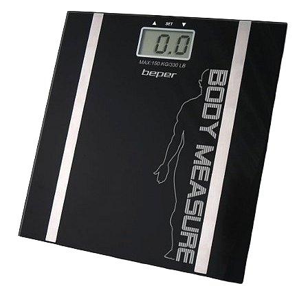 Beper 40808 Digitální osobní váha s měřením tuku a vody