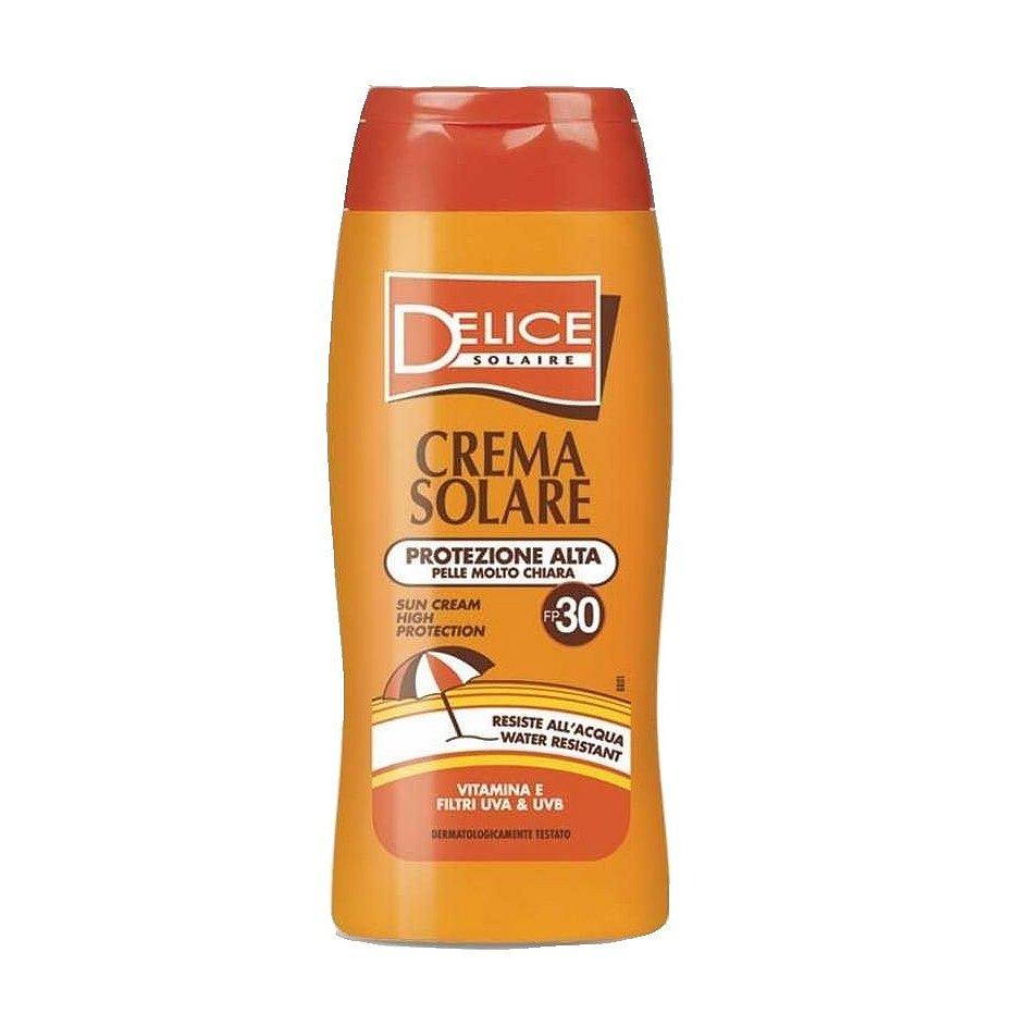 Delice Solaire Sun Cream High Protection SPF30 opalovací krém 250 ml