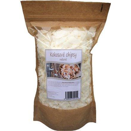 Kokosové chipsy natural 300g