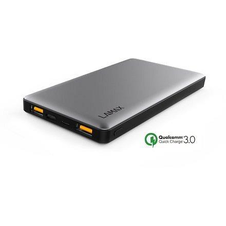 LAMAX 10000 mAh Quick Charge záložní zdroj
