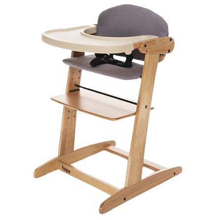 Zopa Grow-up rostoucí židlička Natur/Grey