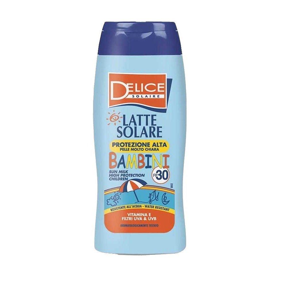 Delice Solaire Sun Milk High Protection Children SPF30 opalovací mléko pro děti 250 ml