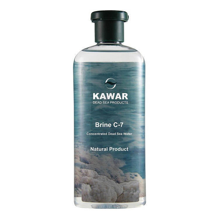 KAWAR Brine C-7 koncentr.voda z Mrtvého moře 400ml