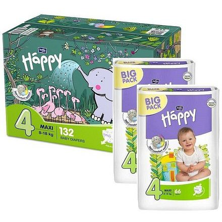 Bella Baby Happy Maxi Box 2 x 66 ks
