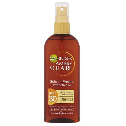 Garnier Ambre Solaire Olej Golden touch OF30 150ml