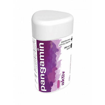 Pangamin Aktiv 200 tablety