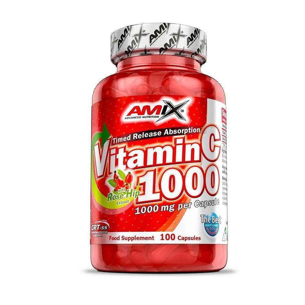 Amix Vitamin C 1000mg, 100 kapslí