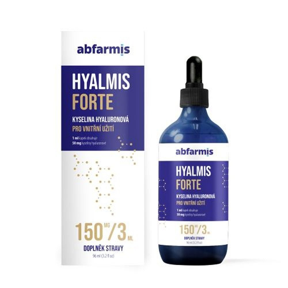 ABFARMIS Hyalmis forte kyselina hyaluronová 96 ml