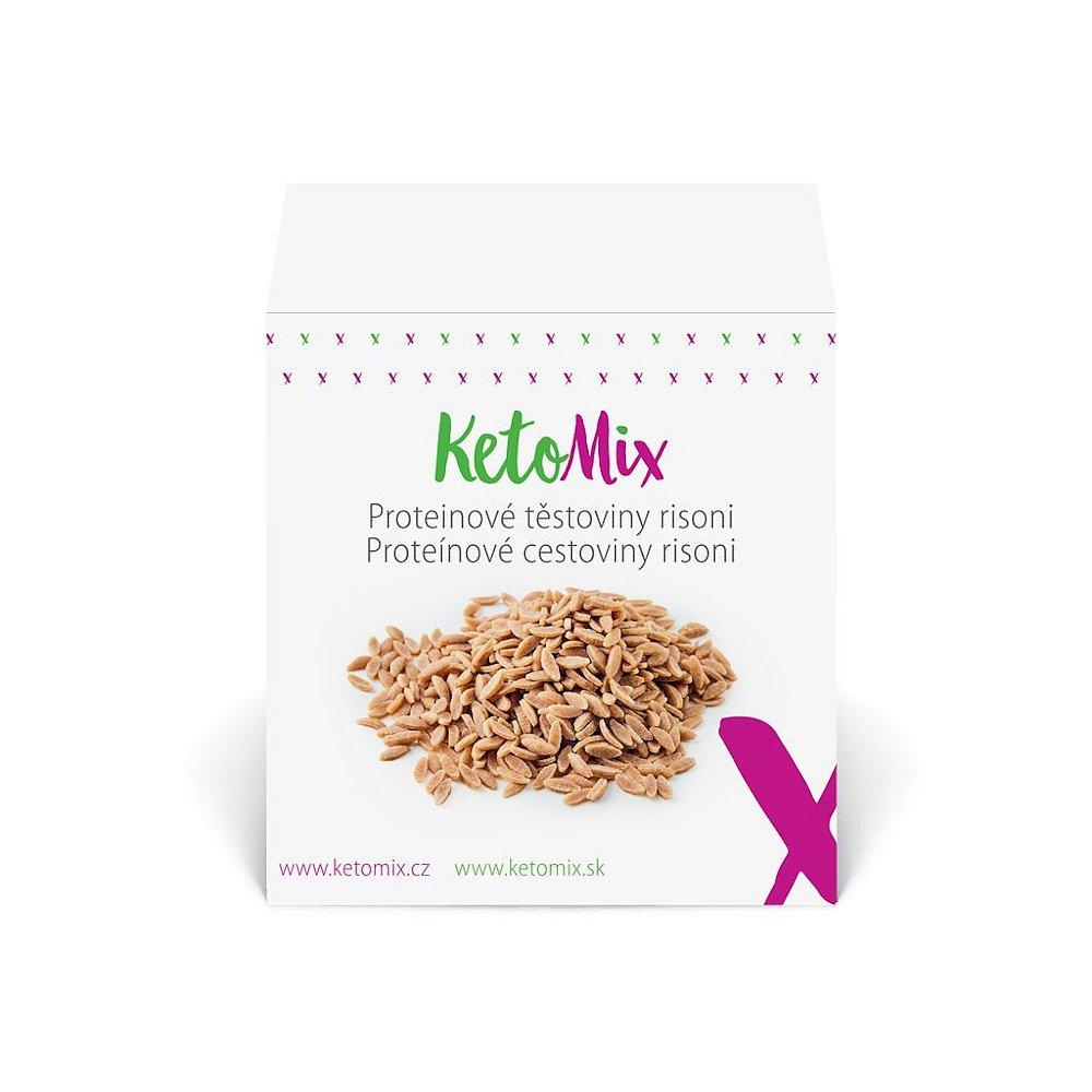 KETOMIX Proteinové těstoviny risoni 10 porcí