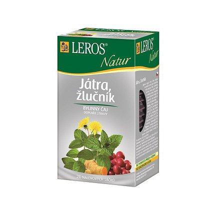 LEROS NATUR Játra-žlučník n.s.20x1.5g
