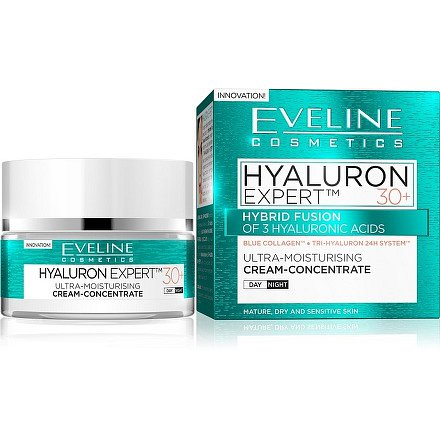 EVELINE BIO Hyaluron 4D day+night cream 30+ - 50ml