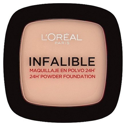 L'Oréal Paris Infalible 24h pudr 123 Warm Vanilla 9g