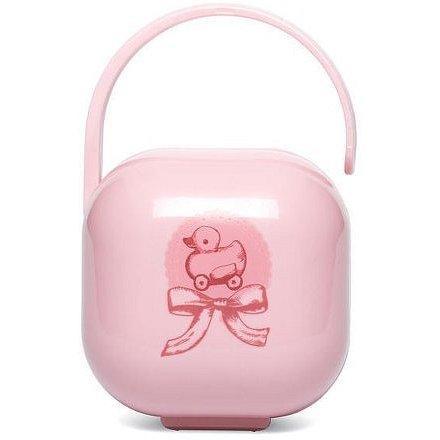 SUAVINEX Krabička na dudlík TOYS - Růžová