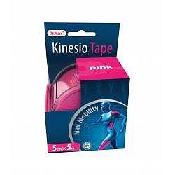 Dr.Max Kinesio Tape pink 5cm x 5m 1 ks