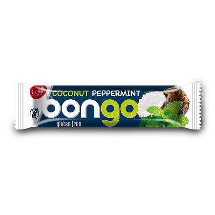 Bongo mátová příchuť - kokosová tyčinka v tmavé polevě 40g