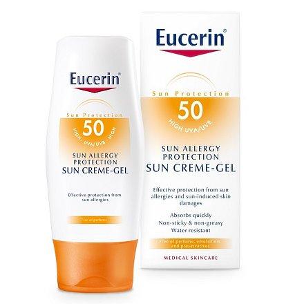 EUCERIN SUN Gel proti sl. alergii SFP50 150ml_2018