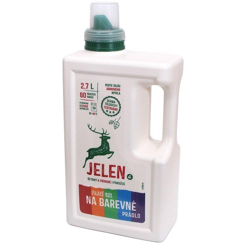 JELEN Gel na barevné prádlo 2,7 l (60 dávek)