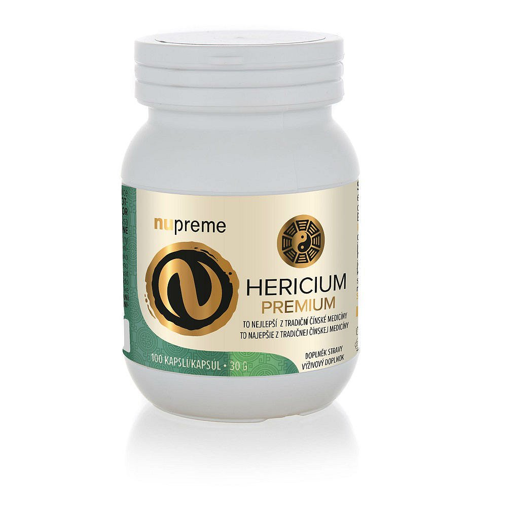 NUPREME Hericium extract 100 kapslí