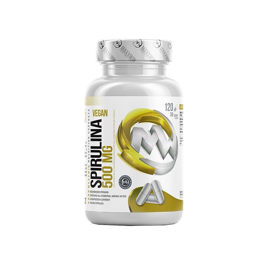 MAXXWIN Spirulina vegan 500 120 kapslí