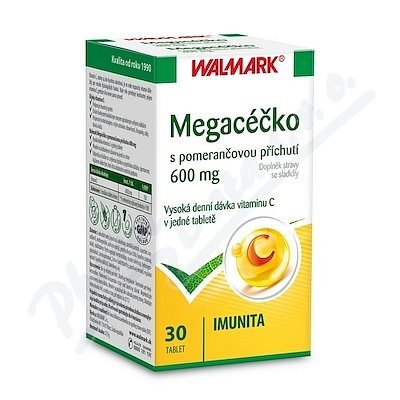 Walmark Megacéčko pomeranč 600mg tbl.30