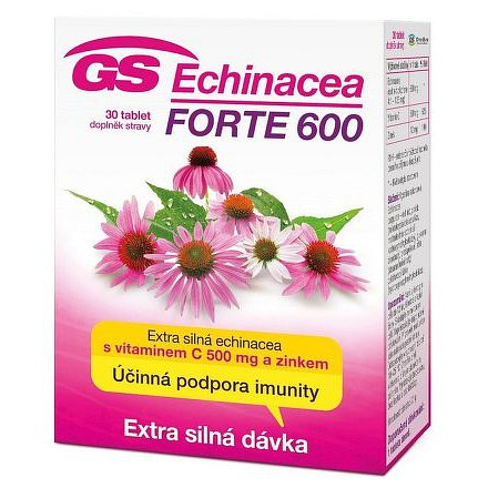 GS Echinacea FORTE 600 tablety 30