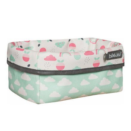 Textilní košík na kojenecké potřeby Bébé-Jou Blush Baby
