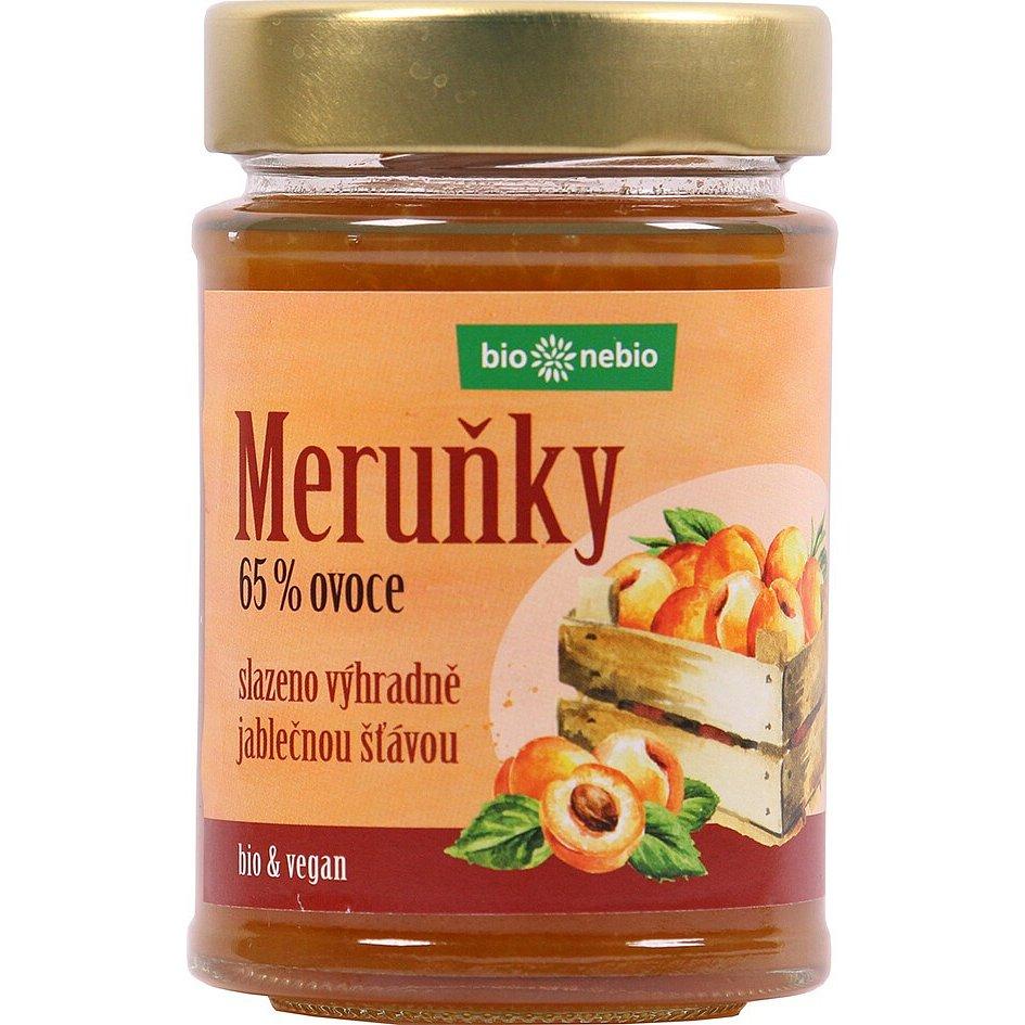 Bio*nebio Bio Meruňky - pomazánka s jablečnou šťávou 200g