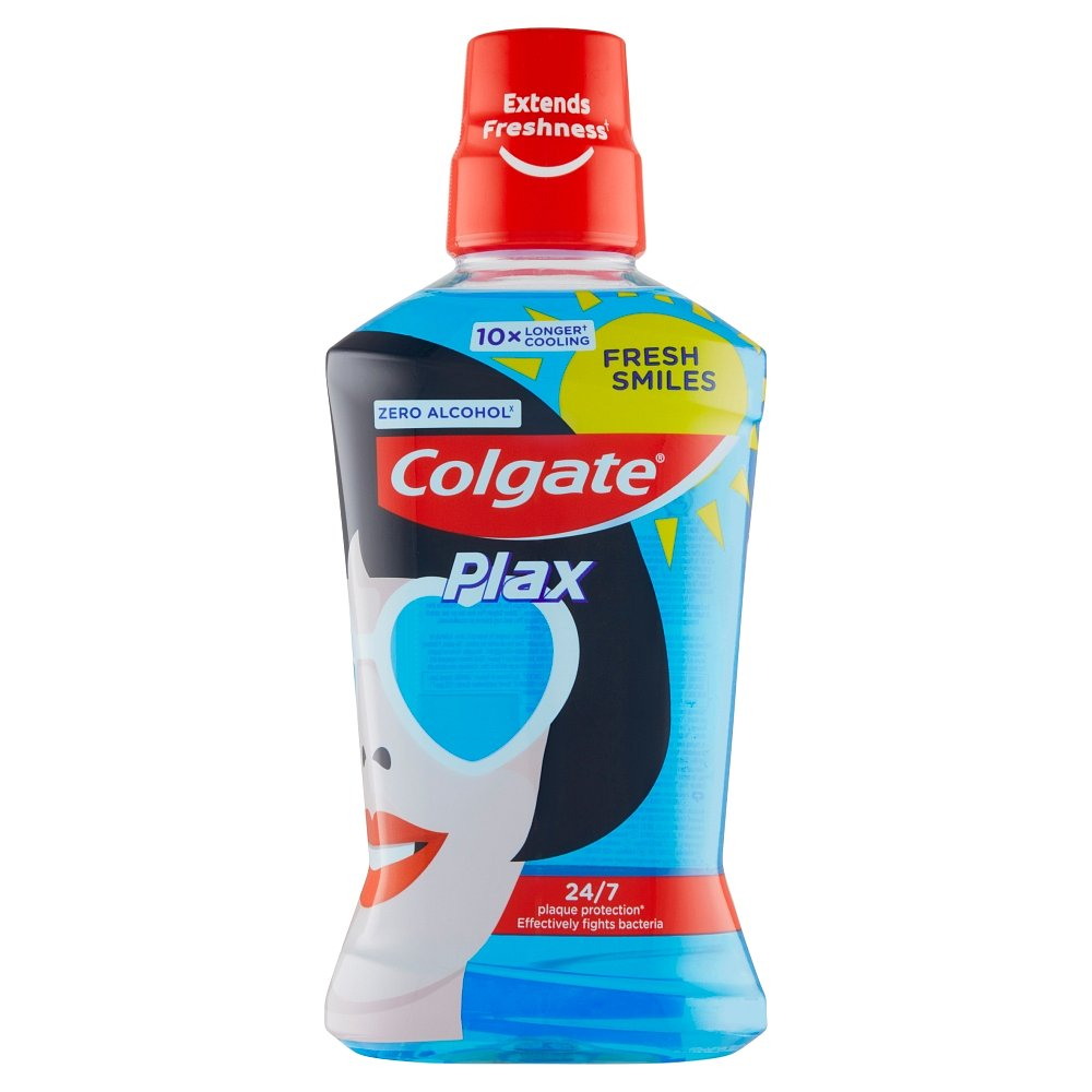 Colgate Plax Fresh Smiles ústní voda 500 ml