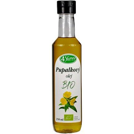 4slim BIO Pupalkový olej 250ml