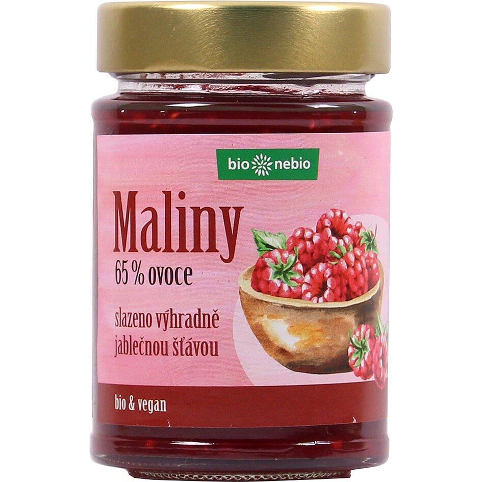 Bio*nebio Bio Maliny - pomazánka s jablečnou šťávou 200g