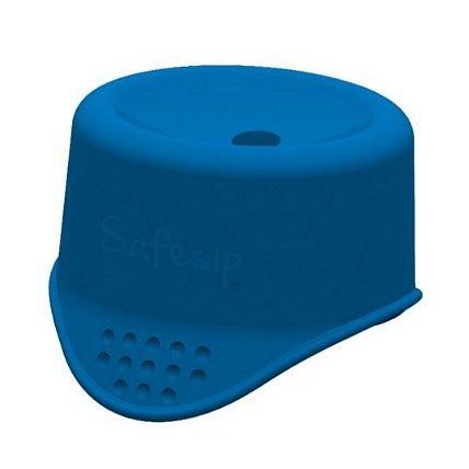 SafeSip Ochrana před rozlitím nápoje - modrá
