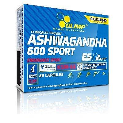 Ashwagandha 600 sport 60 kapslí