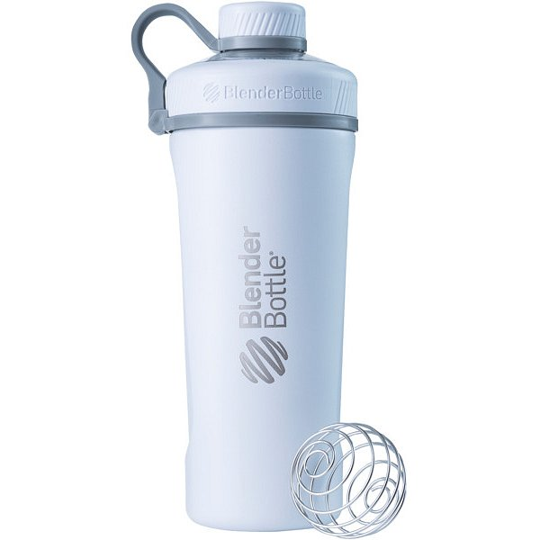 BlenderBottle® Láhev Radian™ Insulated Stainless Steel 940ml- bílá